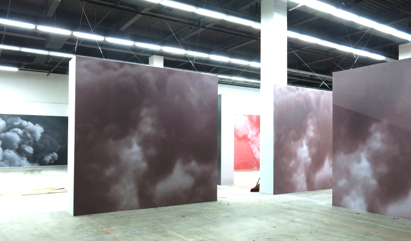 """""""Mise en Scene"""" by El Ultimo Grito at the Gwanju Biennale- """"Burning Down the House"""""""