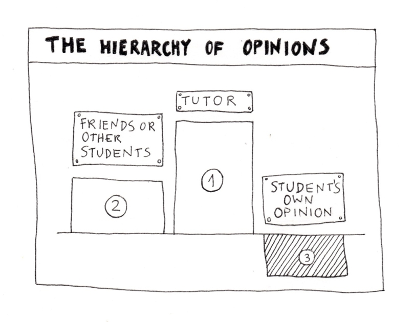 Hierarchy of opinion