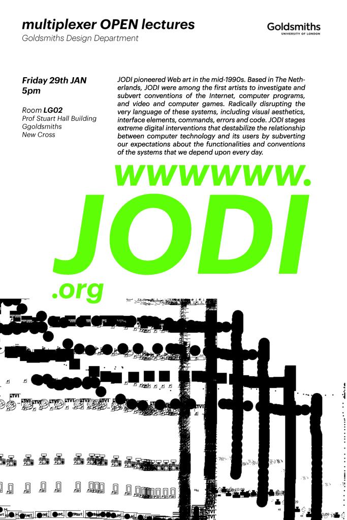 JODI talk poster