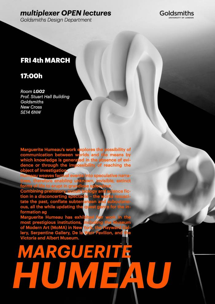 Marguerite Humeau poster