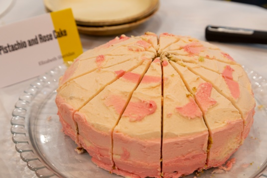 Pistacio and Rosa Cake