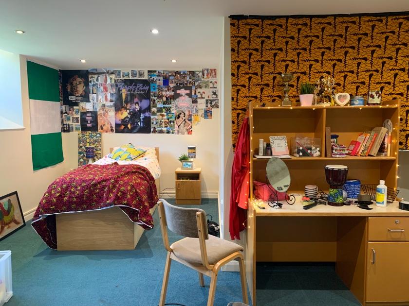 """Dolapo's room, a work-in-progress set for """"Dolapo is fine"""""""